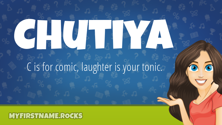 My First Name Chutiya Rocks!