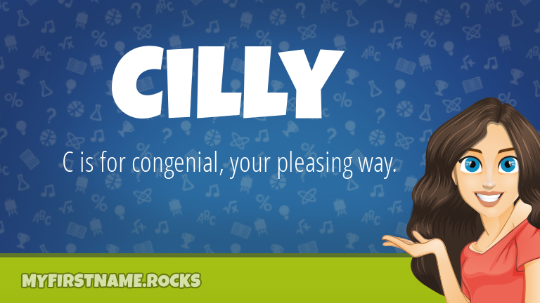 My First Name Cilly Rocks!