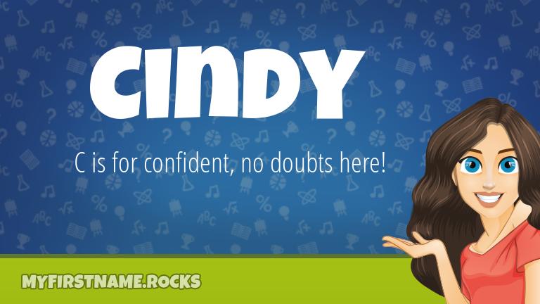 My First Name Cindy Rocks!