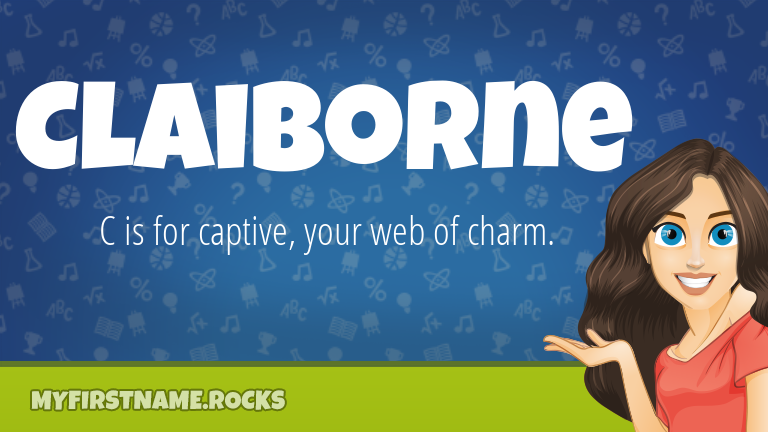 My First Name Claiborne Rocks!