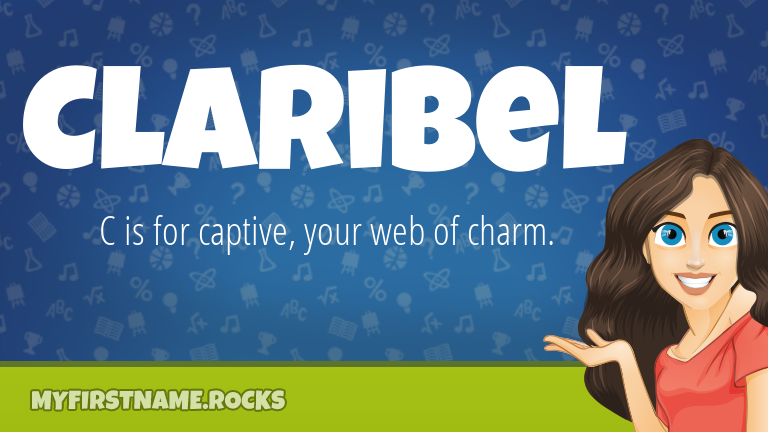 My First Name Claribel Rocks!