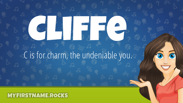My First Name Cliffe Rocks!