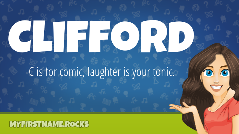 My First Name Clifford Rocks!