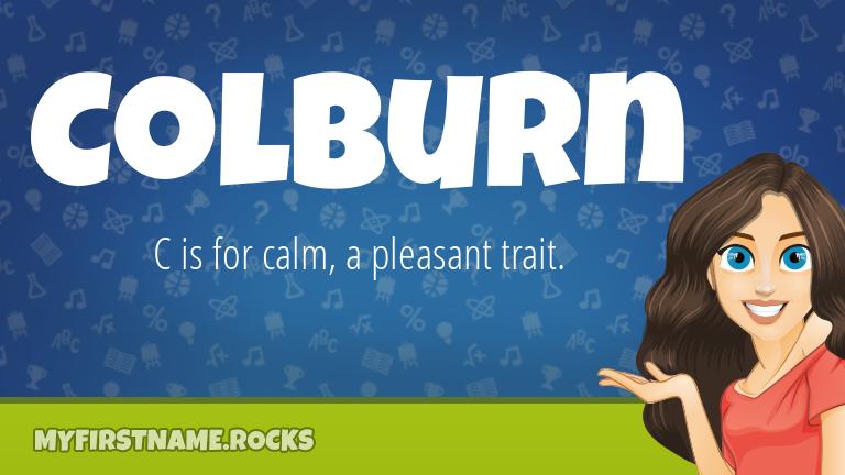 My First Name Colburn Rocks!