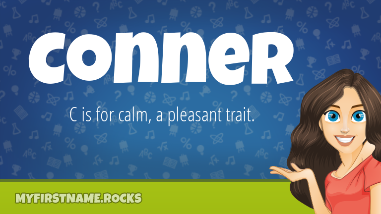 My First Name Conner Rocks!