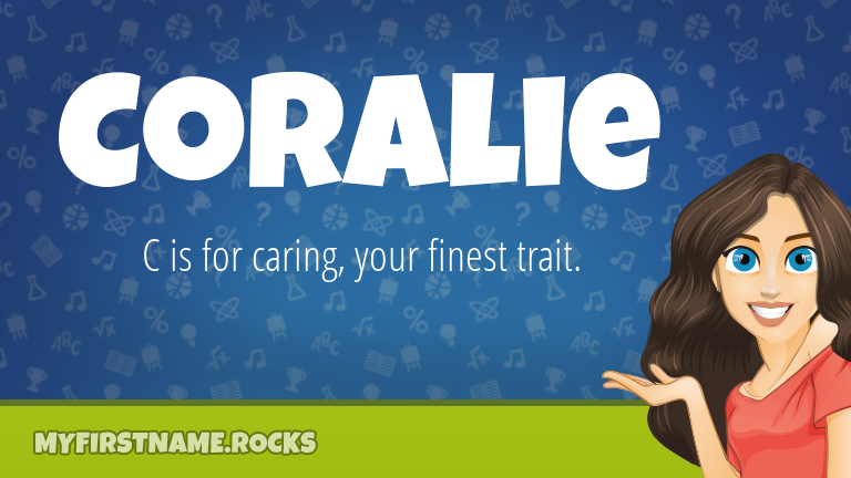 My First Name Coralie Rocks!
