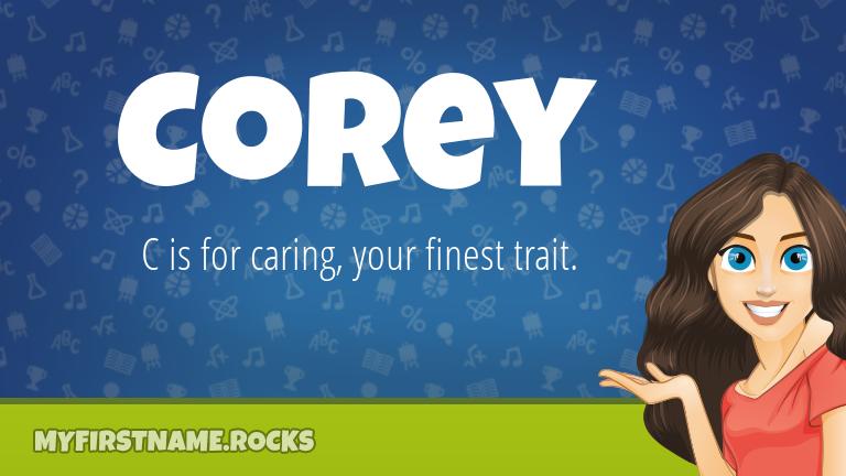 My First Name Corey Rocks!