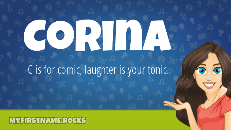 My First Name Corina Rocks!