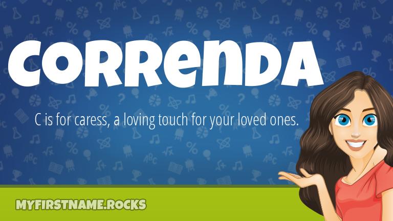 My First Name Correnda Rocks!