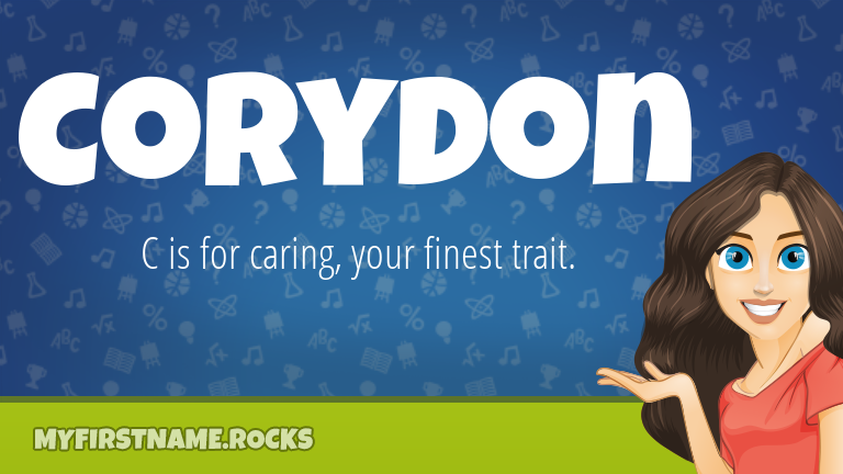 My First Name Corydon Rocks!