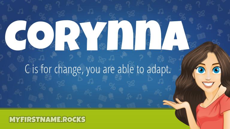 My First Name Corynna Rocks!