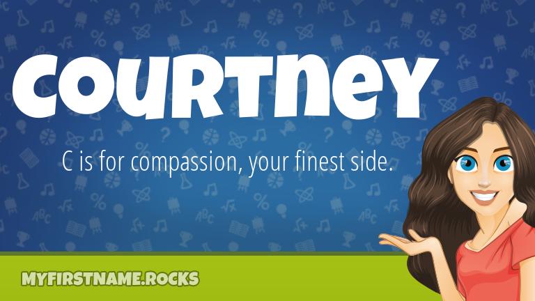 My First Name Courtney Rocks!