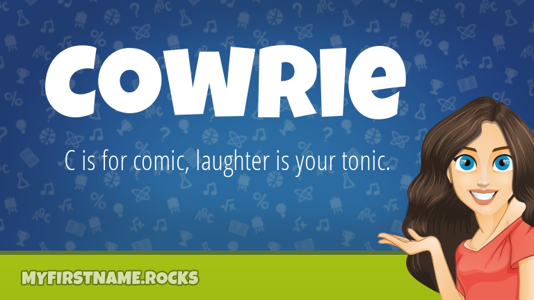 My First Name Cowrie Rocks!