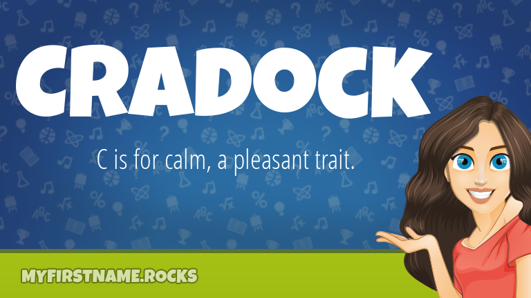 My First Name Cradock Rocks!