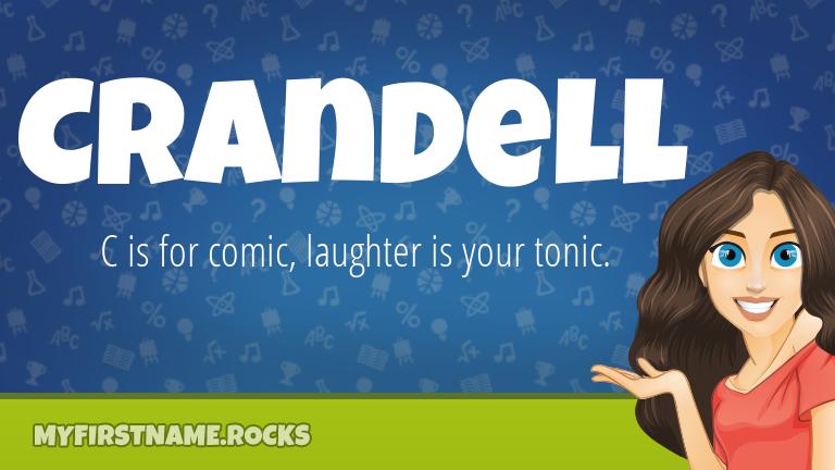 My First Name Crandell Rocks!