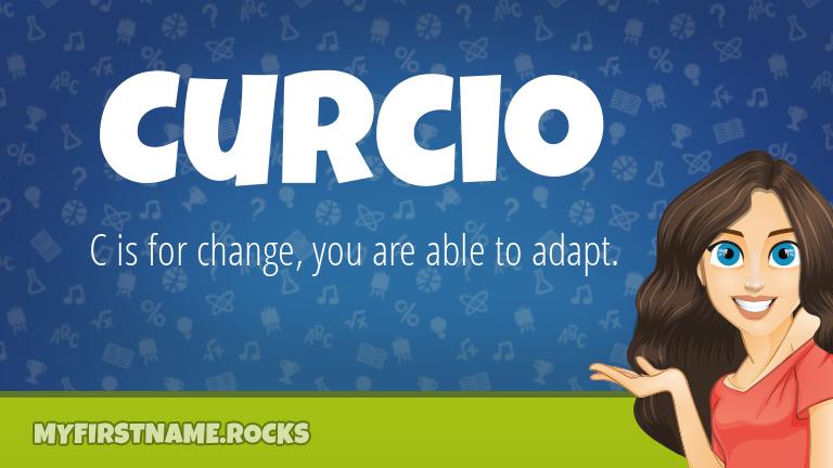 My First Name Curcio Rocks!