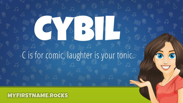My First Name Cybil Rocks!