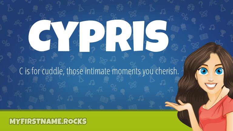 My First Name Cypris Rocks!