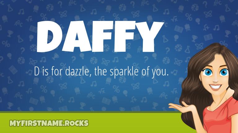 My First Name Daffy Rocks!