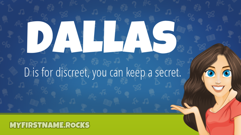 My First Name Dallas Rocks!