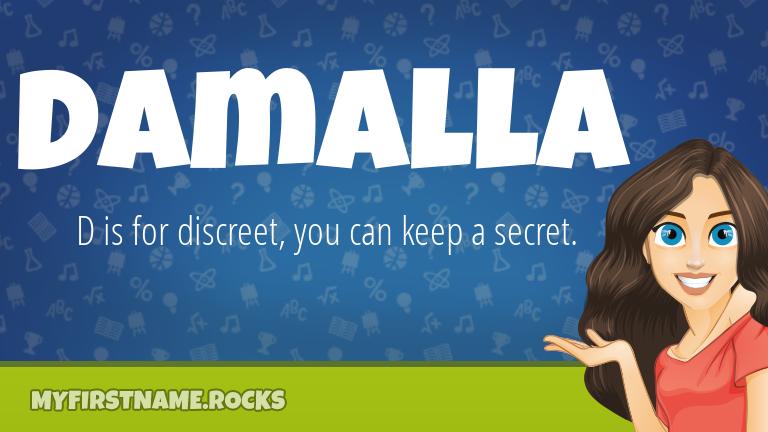 My First Name Damalla Rocks!