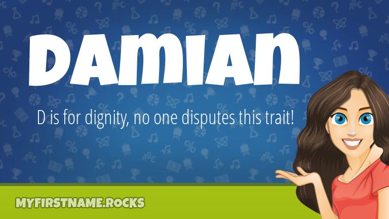 My First Name Damian Rocks!