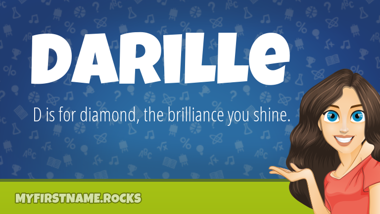 My First Name Darille Rocks!