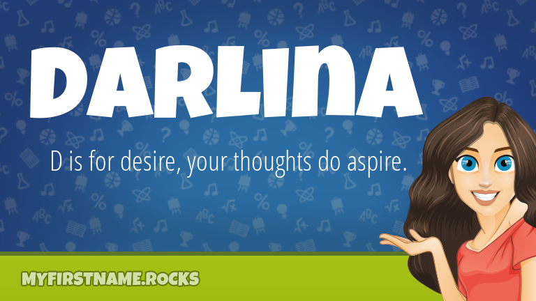 My First Name Darlina Rocks!