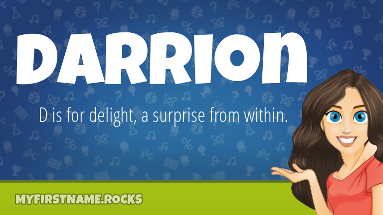 My First Name Darrion Rocks!