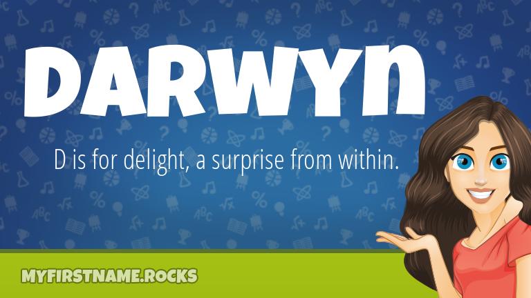 My First Name Darwyn Rocks!