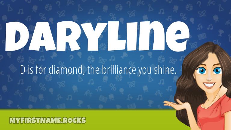 My First Name Daryline Rocks!