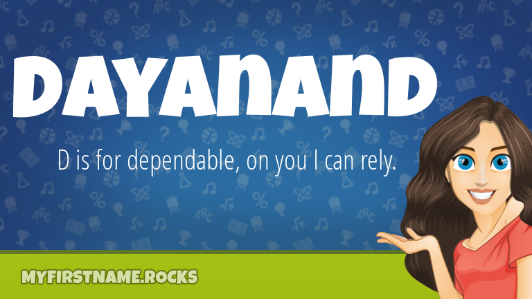 My First Name Dayanand Rocks!