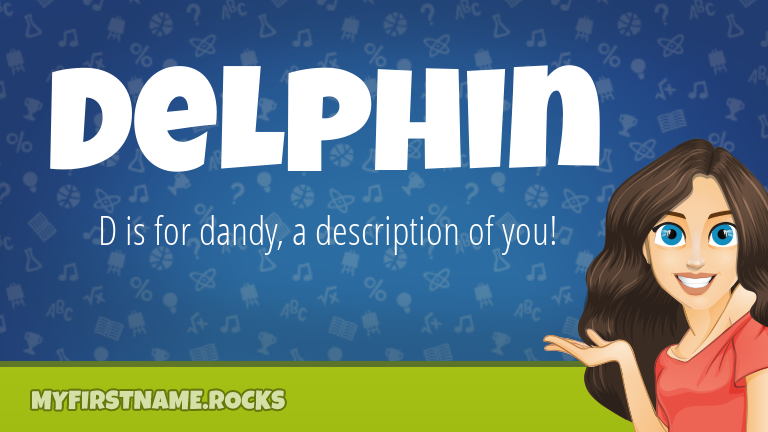 My First Name Delphin Rocks!