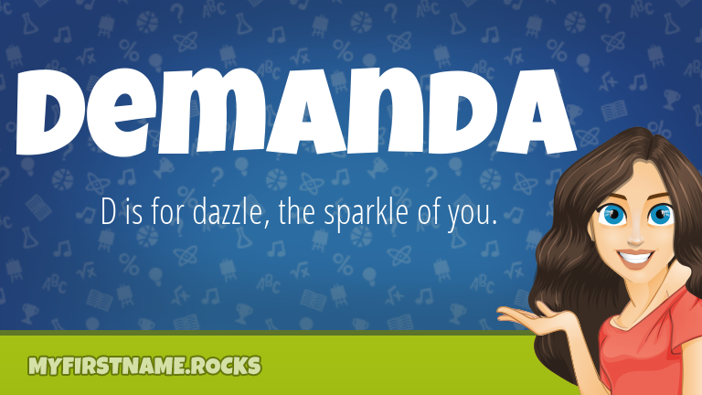 My First Name Demanda Rocks!