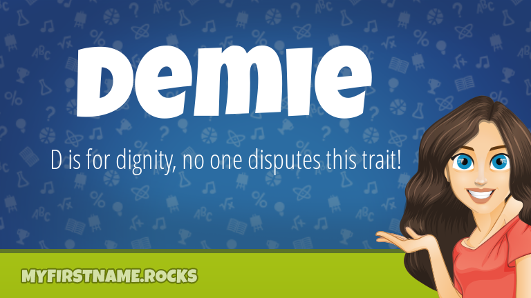 My First Name Demie Rocks!
