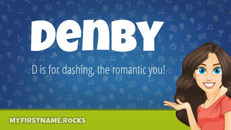 My First Name Denby Rocks!