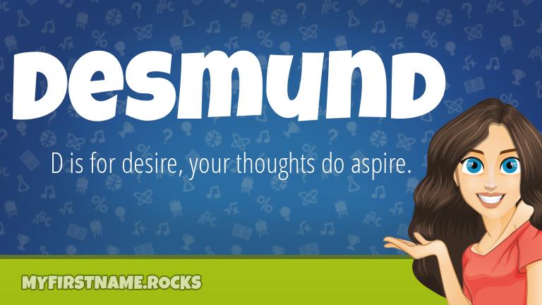 My First Name Desmund Rocks!
