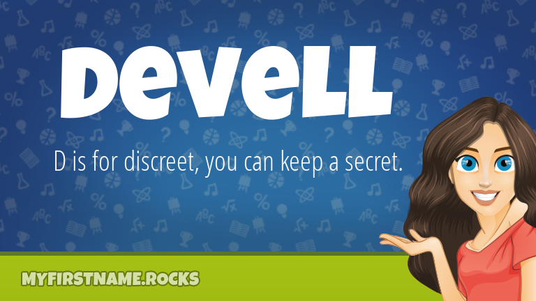 My First Name Devell Rocks!