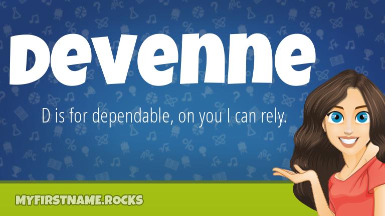 My First Name Devenne Rocks!