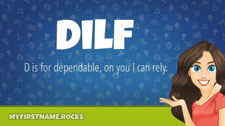My First Name Dilf Rocks!