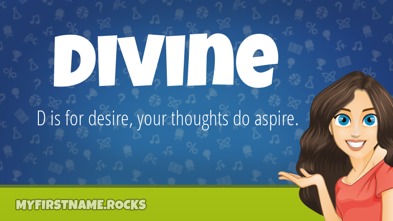 My First Name Divine Rocks!