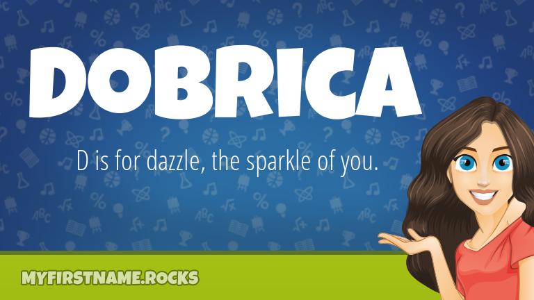 My First Name Dobrica Rocks!