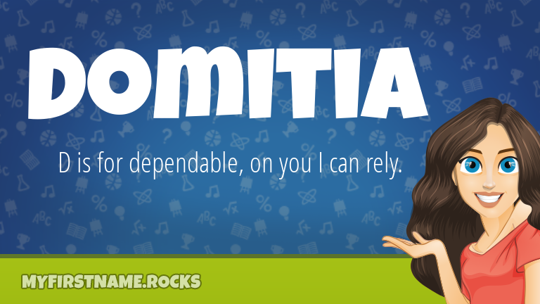 My First Name Domitia Rocks!