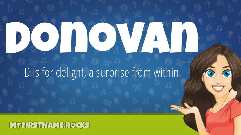 My First Name Donovan Rocks!