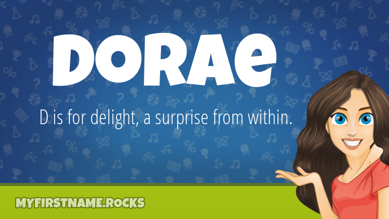 My First Name Dorae Rocks!