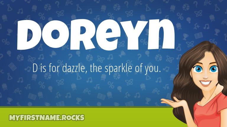 My First Name Doreyn Rocks!