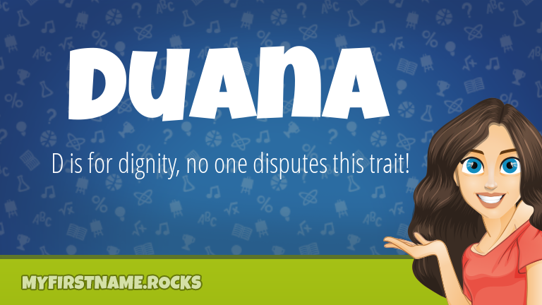 My First Name Duana Rocks!