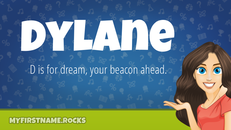 My First Name Dylane Rocks!