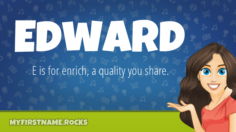 My First Name Edward Rocks!