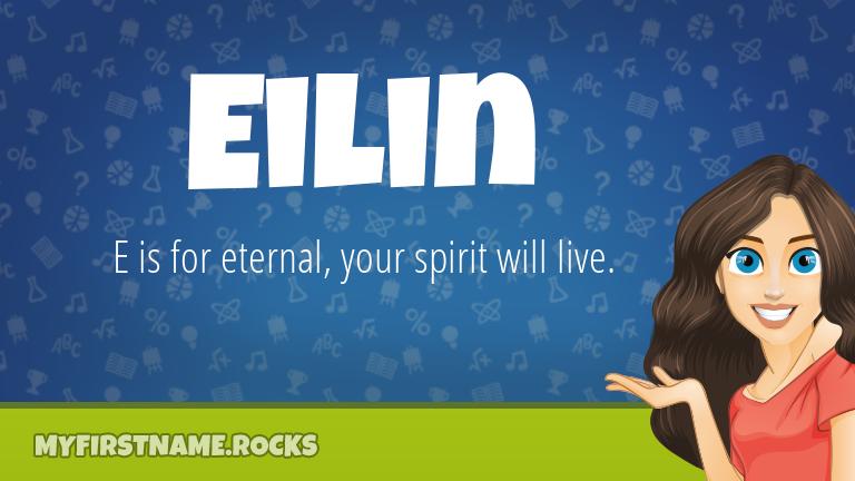My First Name Eilin Rocks!